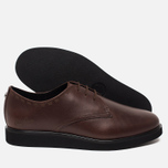 Мужские ботинки Fred Perry Newburgh Leather Dark Chocolate фото- 2