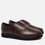Мужские ботинки Fred Perry Newburgh Leather Dark Chocolate фото- 1