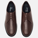 Мужские ботинки Fred Perry Newburgh Leather Dark Chocolate фото- 4