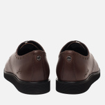 Мужские ботинки Fred Perry Newburgh Leather Dark Chocolate фото- 3