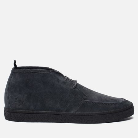 Мужские ботинки Fred Perry Shields Mid Suede Crepe Desert Boot Charcoal