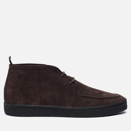 Мужские ботинки Fred Perry Shields Mid Suede Crepe Desert Boot Dark Chocolate