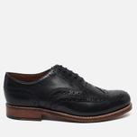 Мужские ботинки Grenson Angus Brogue Black фото- 0