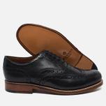 Мужские ботинки Grenson Angus Brogue Black фото- 2