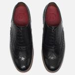 Мужские ботинки Grenson Angus Brogue Black фото- 4