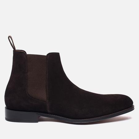 Мужские ботинки Grenson Declan Classic Chelsea Suede Brown