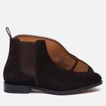 Мужские ботинки Grenson Declan Classic Chelsea Suede Brown фото- 2