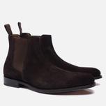 Мужские ботинки Grenson Declan Classic Chelsea Suede Brown фото- 1