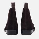 Мужские ботинки Grenson Declan Classic Chelsea Suede Brown фото- 3