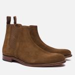 Мужские ботинки Grenson Declan Classic Chelsea Suede Snuff фото- 1