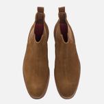 Мужские ботинки Grenson Declan Classic Chelsea Suede Snuff фото- 4