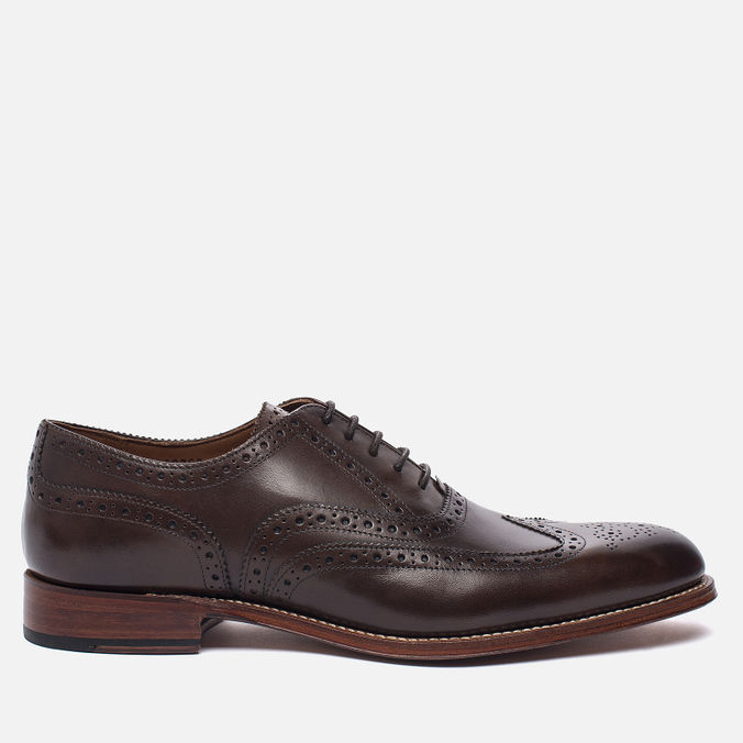 Мужские ботинки Grenson Dylan Sole Leather Burnt Pine