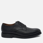 Мужские ботинки Grenson Liam Country Grain Derby Black фото- 0