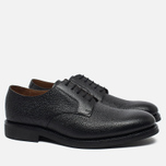 Мужские ботинки Grenson Liam Country Grain Derby Black фото- 1