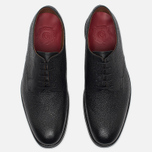 Мужские ботинки Grenson Liam Country Grain Derby Black фото- 4