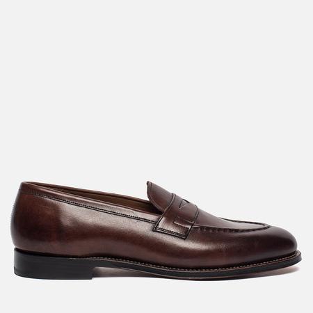 Мужские ботинки Grenson Lloyd Hand Painted Calf Leather Dark Brown