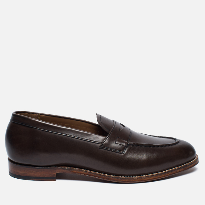 Мужские ботинки лоферы Grenson Lloyd Leather Burnt Pine