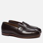 Мужские ботинки лоферы Grenson Lloyd Leather Burnt Pine фото- 1