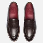 Мужские ботинки лоферы Grenson Lloyd Leather Burnt Pine фото- 4