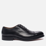 Мужские ботинки броги Grenson Matthew Brogue Sole Leather Black фото- 0