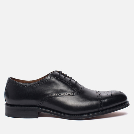Мужские ботинки броги Grenson Matthew Brogue Sole Leather Black