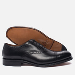 Мужские ботинки броги Grenson Matthew Brogue Sole Leather Black фото- 2