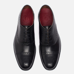 Мужские ботинки броги Grenson Matthew Brogue Sole Leather Black фото- 4