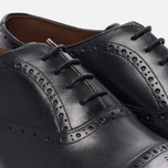 Мужские ботинки броги Grenson Matthew Brogue Sole Leather Black фото- 5