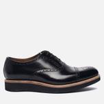 Мужские ботинки броги Grenson Matthew Brogue Sole Wedge Black фото- 0