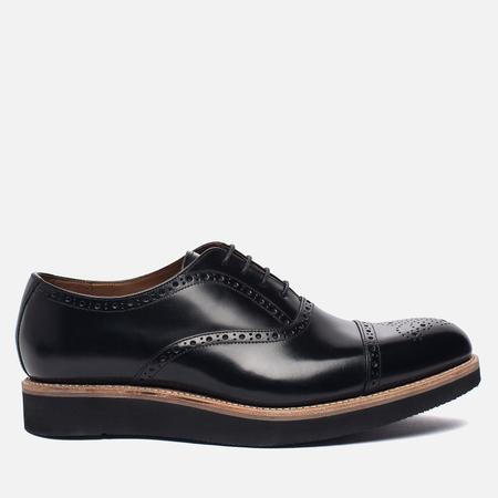 Мужские ботинки броги Grenson Matthew Brogue Sole Wedge Black