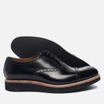 Мужские ботинки броги Grenson Matthew Brogue Sole Wedge Black фото- 2