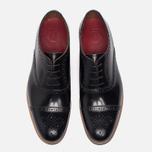 Мужские ботинки броги Grenson Matthew Brogue Sole Wedge Black фото- 4
