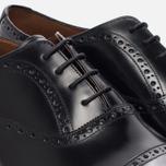 Мужские ботинки броги Grenson Matthew Brogue Sole Wedge Black фото- 5