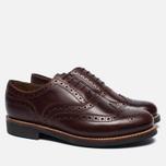 Мужские ботинки Grenson Stanley Brogue Chestnut фото- 1