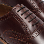 Мужские ботинки Grenson Stanley Brogue Chestnut фото- 5