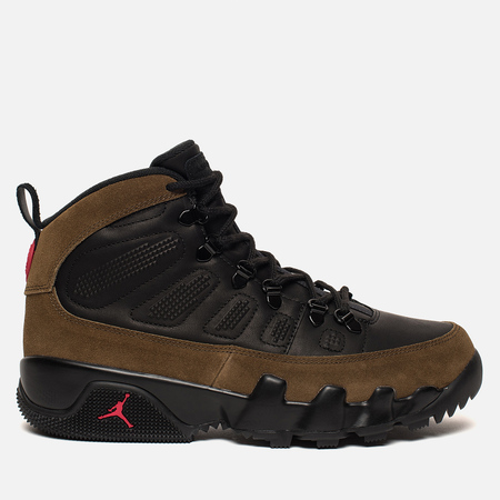 Мужские ботинки Jordan Air Jordan 9 Retro NRG Black/Light Olive/True Red