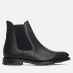 Мужские ботинки Loake Blenheim Chelsea Black Waxy фото- 0