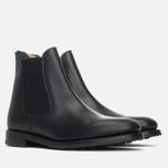 Мужские ботинки Loake Blenheim Chelsea Black Waxy фото- 1