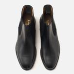 Мужские ботинки Loake Blenheim Chelsea Black Waxy фото- 4