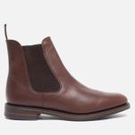 Мужские ботинки Loake Blenheim Chelsea Brown Waxy фото- 0