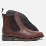 Мужские ботинки Loake Blenheim Chelsea Brown Waxy фото- 2