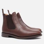 Мужские ботинки Loake Blenheim Chelsea Brown Waxy фото- 1