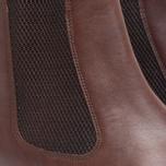 Мужские ботинки Loake Blenheim Chelsea Brown Waxy фото- 4