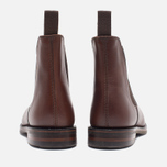 Мужские ботинки Loake Blenheim Chelsea Brown Waxy фото- 3