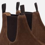 Мужские ботинки Loake Chatsworth Chelsea Suede Brown фото- 5