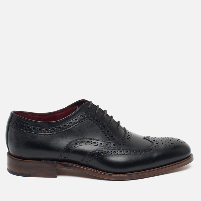 Loake Fearnley Oxford Men's Shoes Black