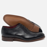 Loake Fearnley Oxford Men's Shoes Black photo- 2