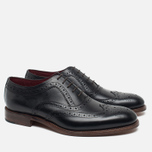 Loake Fearnley Oxford Men's Shoes Black photo- 1