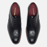 Loake Fearnley Oxford Men's Shoes Black photo- 4
