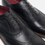 Loake Fearnley Oxford Men's Shoes Black photo- 5
